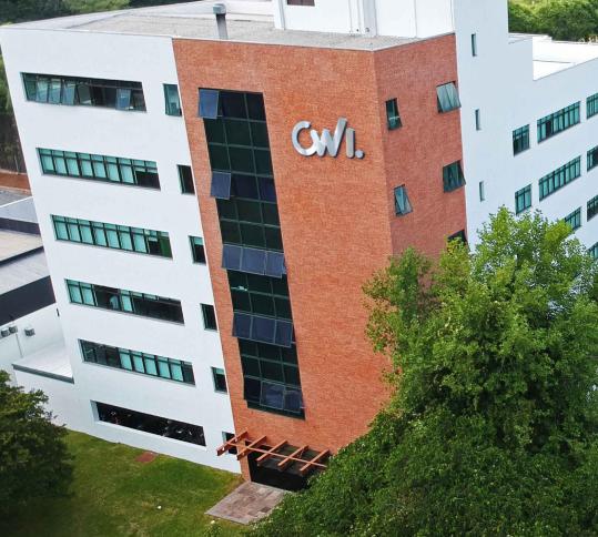 Fachada da sede da CWI São Leopoldo.