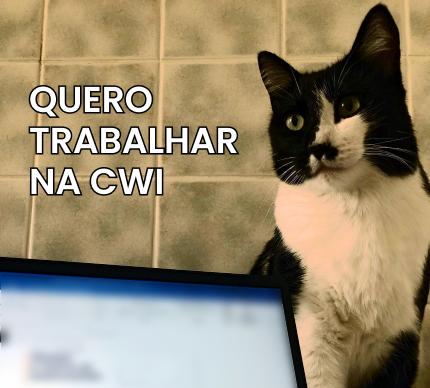 Quero trabalhar na CWI.